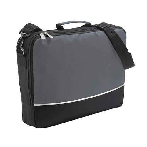 Sacoche porte-documents bicolore CASAL SPORT Plus Gris