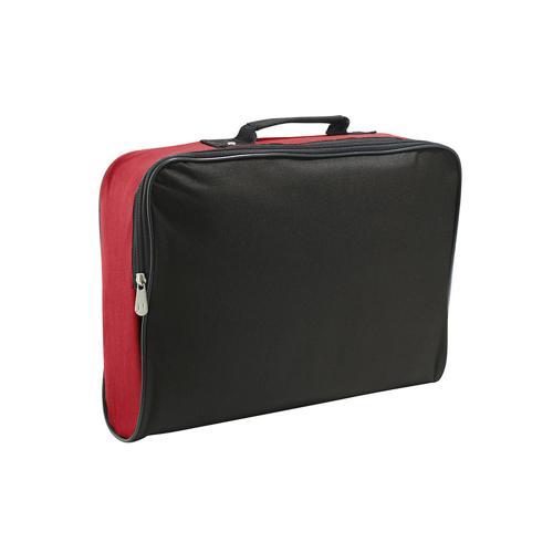 Sacoche porte-documents classique CASAL SPORT Rouge/Noir