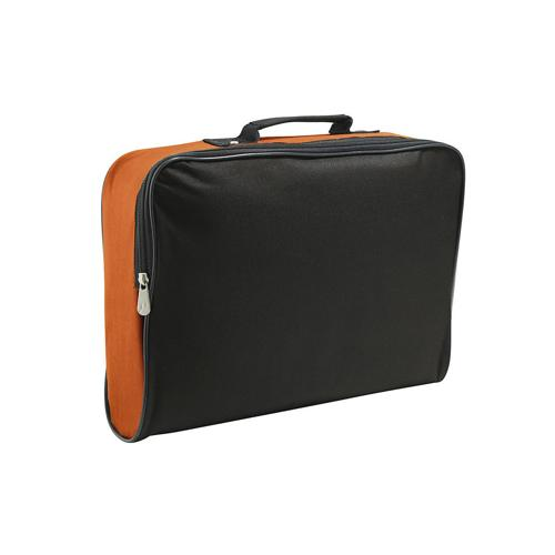 Sacoche porte-documents Classique CASAL SPORT Orange/Noir