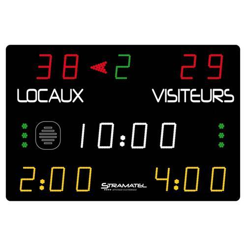 Afficheur Stramatel 452MS7000 spécial Handball