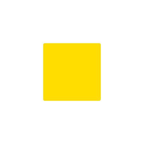 Carré jaune marquage au sol