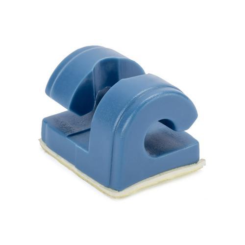 Crochet de maintien de filet pour but en acier - bleu