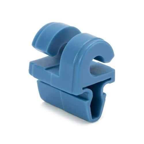 Crochet de maintien de filet pour but en aluminium - bleu
