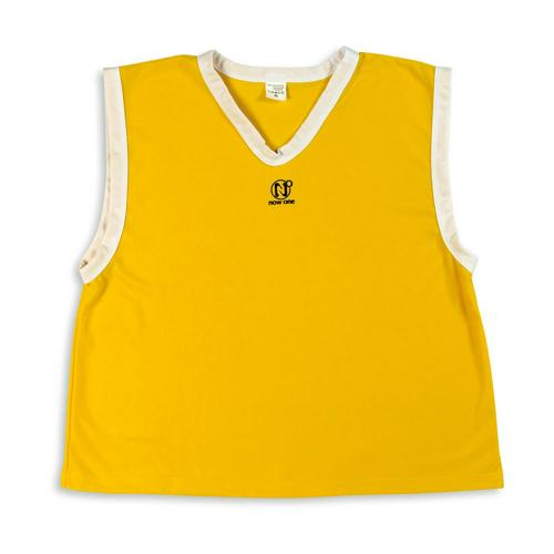 CHASUBLE RUGBY NOW ONE SCHOOL jaune