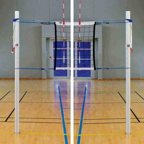 Poteaux de volley GES Regular en Aluminium