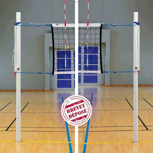 Poteaux de volley GES en acier intensif