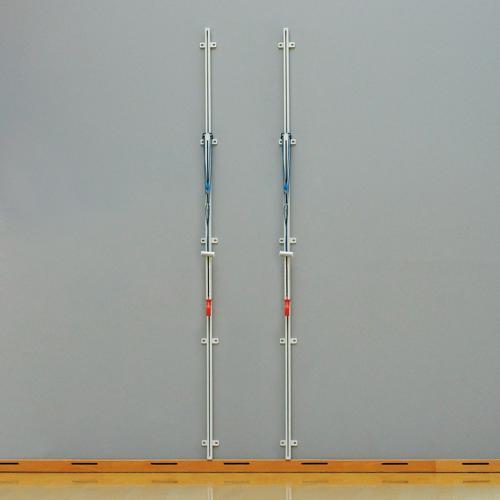 Poteaux de volley muraux en Acier GES Regular