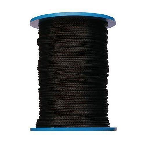 Drisse noir, diamètre 6mm en bobine de 100m