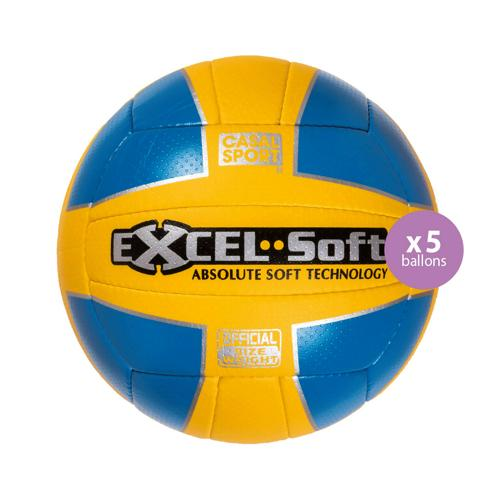 Pack 5 ballons Absolute Excel Soft Casal
