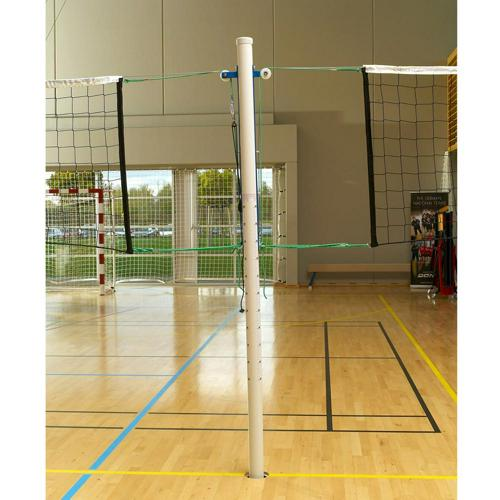 Poteau central de volley ball en aluminium - L'unité