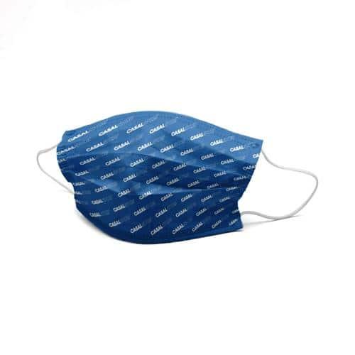 Lot de 100 masques barrières alternatifs lavables UNS1 pour enfant (4 à 12 ans) à personnaliser