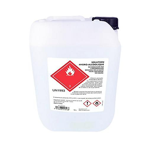 Solution HydroAlcoolisée 10 litres