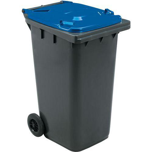 Conteneur mobile tri des déchets 240 L Manutan