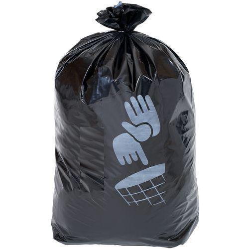 Lot de 100 sacs-poubelle coloris noir 110 L