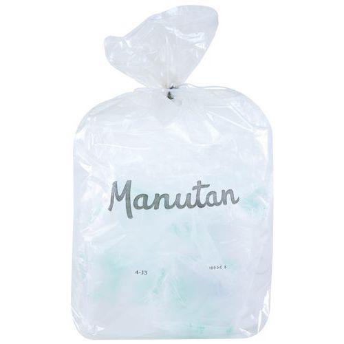 Lot de 200 sacs-poubelle transparent 55 microns 110 Litres