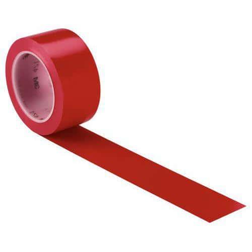 Ruban vinyle hautes performances rouge 50mm / 33m 3M