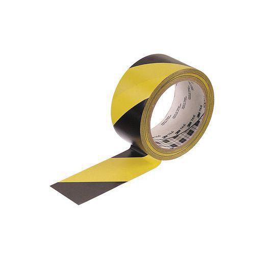 Ruban pour la prévention des risques jaune-noir 50mm / 33m 3 M
