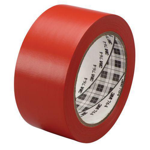 Ruban vinyle d'usage général rouge 50mm / 33m 3M