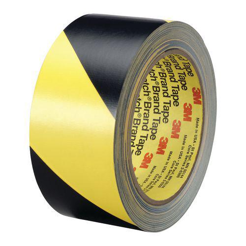 Ruban vinyle hachuré pour les avertissements 3M