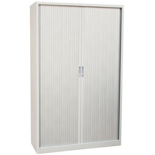 Armoire à rideaux Haute aluminium 120 x 195 cm Manutan