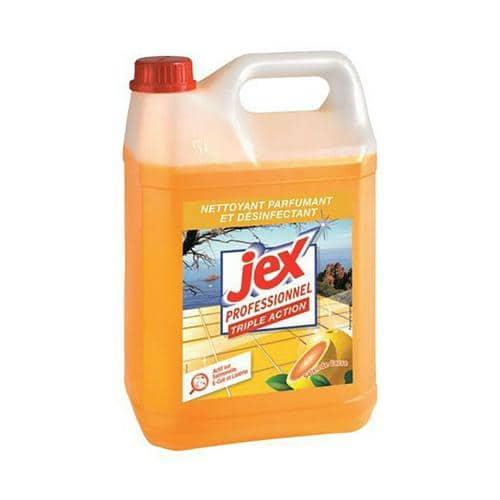 Nettoyant suractif Jex Professionnel - Bidon 5 L parfum citron