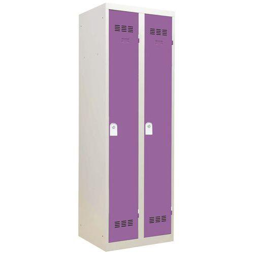 Vestiaire monobloc 2 colonnes Largeur 300 mm