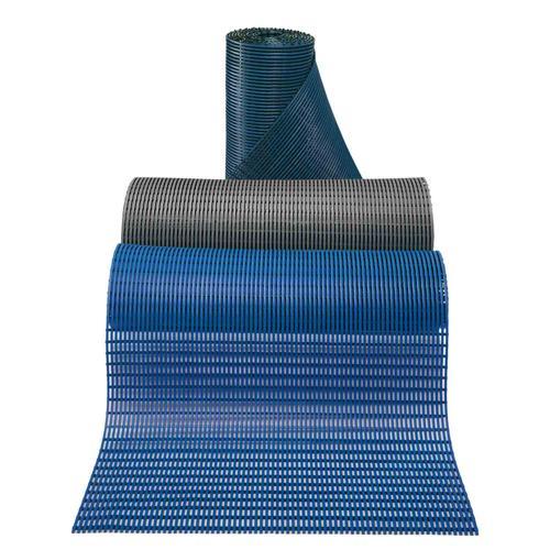 Rouleau de 10m, largeur 100cm de caillebotis antidérapants bleu foncé